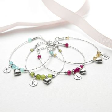 Daughter Personalised Bracelet - Range of Colours